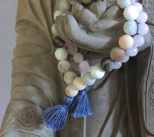 The Perfect Pairing Our Universal Love and Heart Chakra Prayer Bracelet