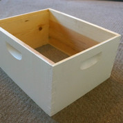 10 FRAME ASSEMBLED PAINTED DEEP HIVE BODY (PALLET QUANTITY 84)