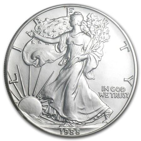 1988 American Eagle Silver Dollar