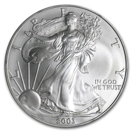 2003 American Eagle Silver Dollar