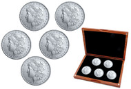 Morgan Silver Dollar Decade Set