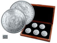 Morgan Silver Dollar Mint Mark Set