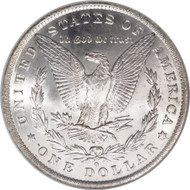New Orleans Morgan Silver Dollar; O-Mint Morgan Silver Dollar