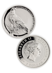 2016 Silver Wedge Tailed Eagle- MS70 Mercanti Signed