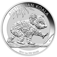 2016 Silver Koala from the Australian Mint