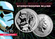 2018 $2 Stormtrooper Silver