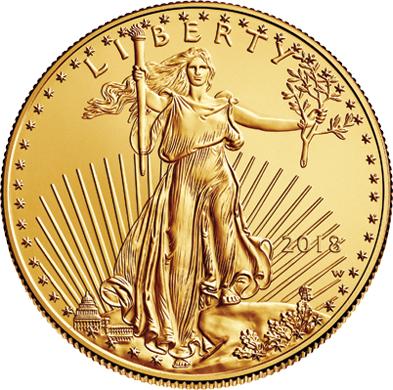 2018 $5 Gold American Eagle
