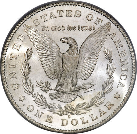 1878-S Morgan Silver Dollar First Year of Issue; San Francisco Mint