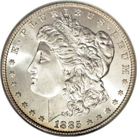 1885 Morgan Silver Dollar