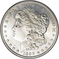 1899-O Morgan Silver Dollar; New Orleans Mint