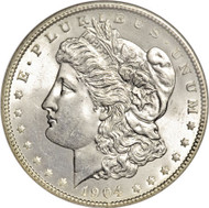 1904-O Morgan Silver dollar; New Orleans Mint