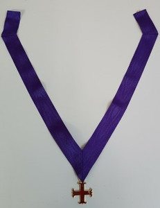 Red Cross of Constantine Members Collar and Jewel
