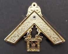 Masonic Past Masters Jewel with stone