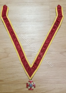 Scottish Rite 32nd Degree Jewel and collaret
