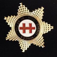 Knight Templar Perceptor Star Jewel  Gold