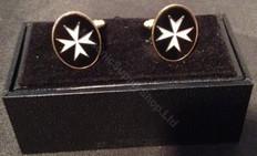 Knight Templar  Maltese Cross Cufflinks