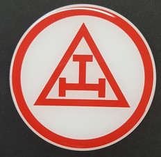 Car Decal  Royal Arch Tau  1
