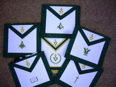 Allied Masonic Degrees Officers Apron Set