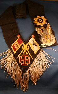 Scottish Rite 30th Degree Sash