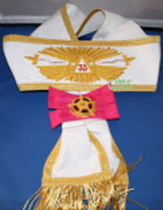 Scottish Rite 33rd Degree Sash