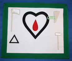 Scottish Rite Apron Heart