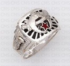 Silver Shrine Ring - 15