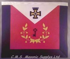 Scottish Rite 28th degree apron