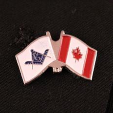 Canadian Flag & Masonic Flag
