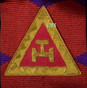 Embroidered or Metal Taus available    standard is Embroidered