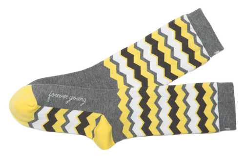 Forever Young Grey Women's Socks