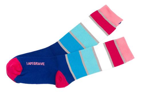 I Am Brave Women's Socks