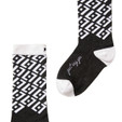 Just Say Yes modern, luxury socks by Posie Turner. Socks with inspirational messages.