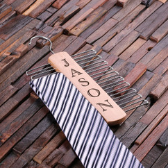 Personalized Tie Hanger - Vertical Name