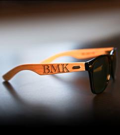 Groupon AU Personalized Sunglasses - RayBan Masculine Monogram