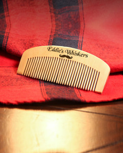 Groupon AU Engraved Comb - His Whiskers