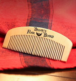 Groupon AU Engraved Comb - Fear My Beard