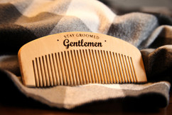 Groupon AU Engraved Comb - Stay Groomed