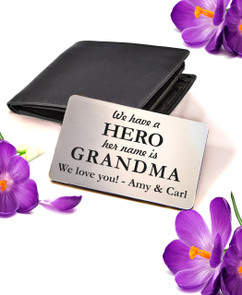 Groupon AU Personalized Wallet Card - My HERO