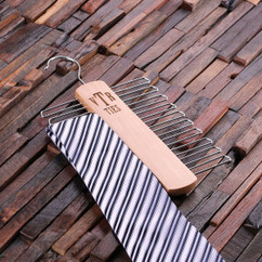 LUX - Personalized Tie Hanger - Monogram