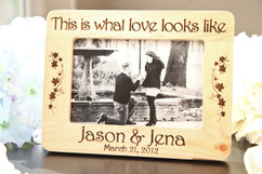 LUX - Personalized Picture Frame - What Love Looks Like