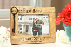 LUX - Personalized Picture Frame - Our First Home