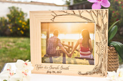 LUX - Personalized Picture Frame - Love tree