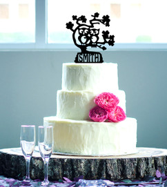 Groupon AU -Personalized Cake Topper - Owls