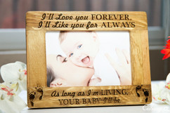 Groupon AU/NZ  - Personalized Picture Frame - My Baby