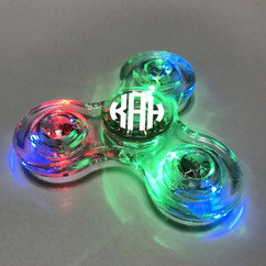 Grpn UK - Transparent LED Fidget Spinner