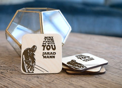 Personalized Coaster Set - Star Wars