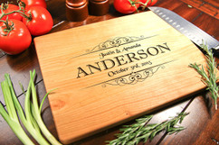 Cherry Personalized Cutting Board ~ Anderson