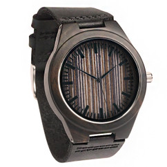 Grpn Italy - Wood Engraved Watch W#66 - Apex