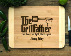 Grillfather Personalized Cutting Board HDS