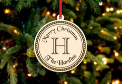 Personalized Christmas Ornament - Family Bell